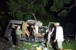 Video: Hiện trường tai nạn xe khách thảm khốc, 8 người chết ở Bình Thuận