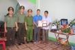 Truy tặng Huy hiệu Tuổi trẻ dũng cảm cho chiến sỹ cảnh sát cơ động ở Bắc Giang