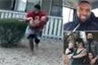 Video: Cựu cầu thủ tóm gọn bé 3 tuổi rơi xuống từ căn nhà cháy