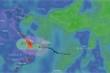 TRỰC TIẾP:  Bão số 6 đi vào đất liền, suy yếu thành áp thấp nhiệt đới
