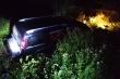 Ô tô lao xuống ruộng ở Nghệ An, 3 người thương vong lúc rạng sáng