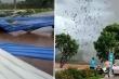 Mưa lốc làm sập xưởng gỗ ở Vĩnh Phúc, 3 người chết, hơn 20 người bị thương