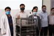 Cận cảnh robot BK-AntiCovid phục vụ trong khu cách ly ở Đà Nẵng
