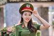 Nữ thủ khoa Học viện Cảnh sát Nhân dân rạng rỡ trong bộ ảnh kỷ yếu