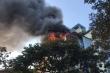 Cháy lớn quán karaoke sắp đi vào hoạt động trên phố Hà Nội