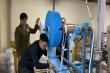 Phát hiện xưởng sản xuất khẩu trang kháng khuẩn bằng giấy vệ sinh ở Hà Nội