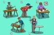 Đố vui hại não: Ai là người thuận tay trái?