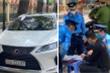 Lời trần tình của tài xế Lexus đỗ xe sai quy định còn thách thức Công an Hà Nội