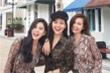 Bộ ba hot girl đời đầu Phanh Lee – Huyền Lizzie – Thu Hoài khoe vẻ trẻ trung, xinh đẹp