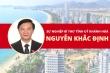 Infographic: Sự nghiệp Bí thư Tỉnh ủy Khánh Hoà Nguyễn Khắc Định