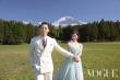 Lâm Chí Linh và chồng trẻ tình tứ trên tạp chí