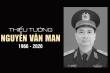 Quốc hội sẽ mặc niệm tướng Nguyễn Văn Man và chiến sĩ, đồng bào hy sinh
