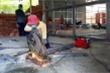 Ảnh: Cận cảnh khu vực  xây dựng bệnh viện dã chiến ở TP Hà Tiên