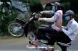 Xử lý nhóm quái xế quay clip bốc đầu xe máy để câu like