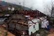 Mưa đá khổng lồ dội xuống xã biên giới Lai Châu, hàng trăm ngôi nhà tan hoang