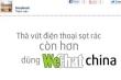 Tẩy chay wechat, cộng đồng mạng nổi giận 'sao wechat'