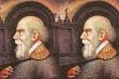 Thử tài tinh mắt: Có bao nhiêu mặt người trong bức tranh?