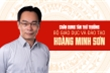 Infographic: Sự nghiệp tân Thứ trưởng Bộ Giáo dục và Đào tạo Hoàng Minh Sơn