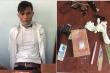 Đồng Nai: Nam thanh niên vận chuyển ma tuý cầm dao tấn công CGST