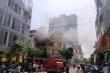 Khói lửa bao trùm cửa hàng 4 tầng kinh doanh gas ở TP Thanh Hóa