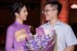 Chồng sắp cưới đến ủng hộ Hoa hậu Ngọc Hân trong đêm thời trang