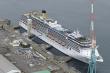 Xuất hiện ổ dịch COVID-19 trên du thuyền vừa cập cảng Nhật Bản