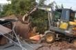 Tháo dỡ công trình trái phép 'núp bóng' chuồng gà tại điểm nóng đất đai ở Hải Phòng