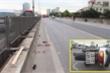 Đi xe máy lên đường vành đai 3 trên cao, cô gái gặp tai nạn