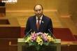 Tân Chủ tịch nước Nguyễn Xuân Phúc hứa tận tâm, tận lực, trách nhiệm