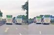 Video: Kinh hãi cảnh 2 xe khách chèn ép nhau trên quốc lộ 1A