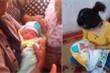 Bé gái bị bỏ rơi cùng 1 triệu đồng trước cửa nhà dân ở Nam Định