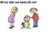 Bố mẹ mít đặc về sức khỏe sinh sản