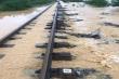 Ngành đường sắt thiệt hại gần 27 tỷ đồng vì lũ lụt tại miền Trung