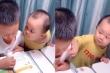 Clip: Em bé trêu anh trai đang học bài