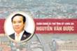 Infographic: Chân dung Bí thứ Tỉnh ủy Long An Nguyễn Văn Được