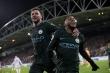Video Huddersfield 1-2 Man City: Raheem Sterling kéo Man City ngược dòng đẳng cấp
