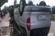 Video: Hiện trường vụ tai nạn ở Campuchia khiến 6 người Việt chết