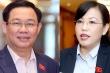 Quốc hội sẽ miễn nhiệm ông Vương Đình Huệ, bà Nguyễn Thanh Hải