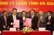 Hội đồng Lý luận Trung ương ký kết chương trình hợp tác với Hội đồng Lý luận tỉnh Hà Giang