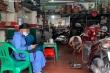 Cửa hàng sửa xe Hà Nội nhanh tay đón khách trước giờ được mở cửa trở lại