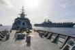 Tàu khu trục Australia cùng 3 tàu chiến Mỹ tập trận trên Biển Đông