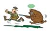 Khóc thét khi nghe thợ săn bày mẹo trốn gấu dữ
