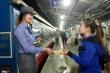 Chuyến tàu đêm đưa nghìn công nhân về quê ăn Tết
