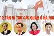 Infographic: Chân dung 12 tân Bí thư quận ủy ở Hà Nội