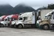 Đề xuất tạm dừng tiếp nhận hàng xuất khẩu lên cửa khẩu Tân Thanh