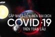 Infographic: Cập nhật liên tục diễn biến dịch COVID-19 trên toàn cầu ngày 25/5