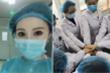Nữ người mẫu Trung Quốc gây chú ý trong cuộc chiến chống dịch Covid-19