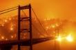 Ảnh: California chìm trong khói lửa màu cam như sao Hỏa