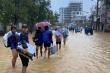 Bộ Y tế yêu cầu các bệnh viện 'kích hoạt' đội cơ động hỗ trợ vùng lũ lụt