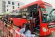Ảnh: Người dân dùng phương tiện cá nhân về quê, bến xe Hà Nội vắng khách
